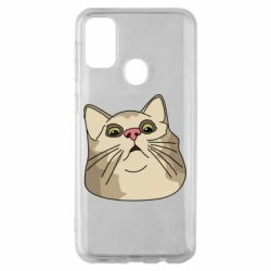 Чехол для Samsung M30s Surprised cat