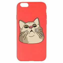 Чехол для iPhone 6 Plus/6S Plus Surprised cat