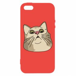 Чехол для iPhone5/5S/SE Surprised cat