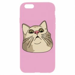 Чехол для iPhone 6/6S Surprised cat