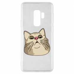 Чехол для Samsung S9+ Surprised cat