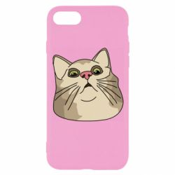 Чехол для iPhone 8 Surprised cat