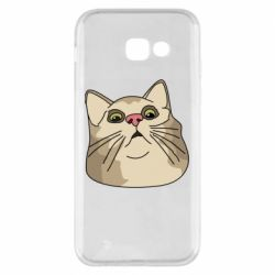 Чехол для Samsung A5 2017 Surprised cat