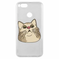 Чехол для Xiaomi Mi A1 Surprised cat