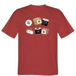 Чоловіча футболка Sushi
