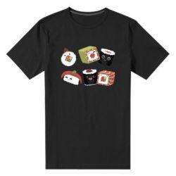 Чоловіча стрейчева футболка Sushi