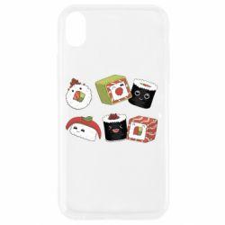 Чохол для iPhone XR Sushi