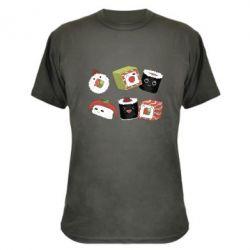 Камуфляжна футболка Sushi