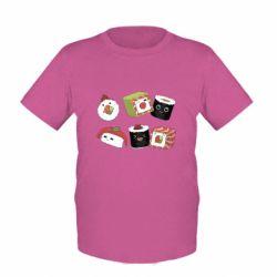 Дитяча футболка Sushi