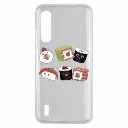 Чохол для Xiaomi Mi9 Lite Sushi