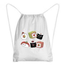 Рюкзак-мішок Sushi