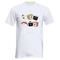 Чоловіча спортивна футболка Sushi