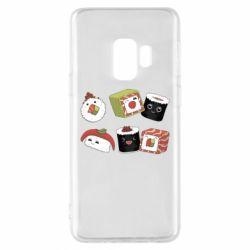 Чохол для Samsung S9 Sushi