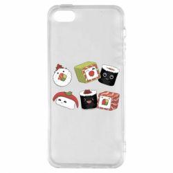 Чохол для iphone 5/5S/SE Sushi