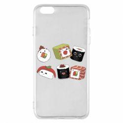 Чохол для iPhone 6 Plus/6S Plus Sushi