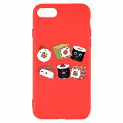 Чохол для iPhone 7 Sushi
