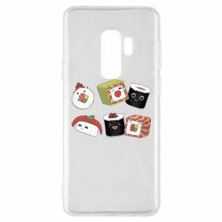 Чохол для Samsung S9+ Sushi