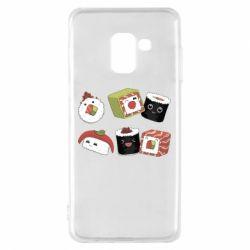 Чохол для Samsung A8 2018 Sushi