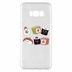 Чохол для Samsung S8 Sushi