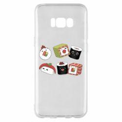 Чохол для Samsung S8+ Sushi