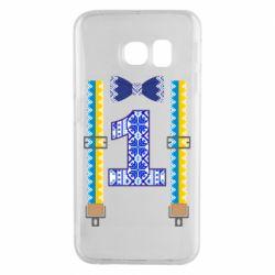 Чехол для Samsung S6 EDGE Первоклассник