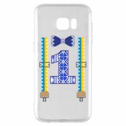 Чехол для Samsung S7 EDGE Первоклассник