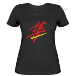Женская футболка Suzuki Hayabusa - FatLine