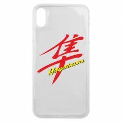 Чехол для iPhone Xs Max Suzuki Hayabusa