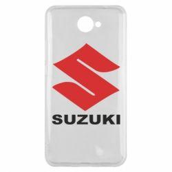 Чехол для Huawei Y7 2017 Suzuki - FatLine