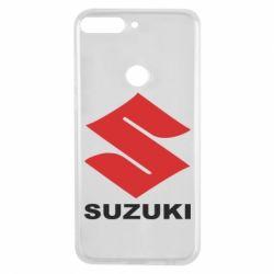 Чехол для Huawei Y7 Prime 2018 Suzuki - FatLine