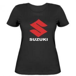 Жіноча футболка Suzuki - FatLine
