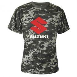Камуфляжная футболка Suzuki - FatLine