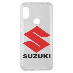 Чехол для Xiaomi Redmi Note 6 Pro Suzuki - FatLine