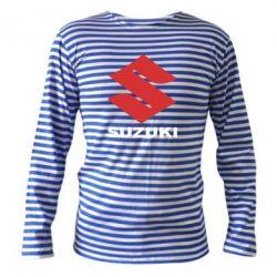 Тельняшка с длинным рукавом Suzuki - FatLine