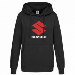 Женская толстовка Suzuki - FatLine