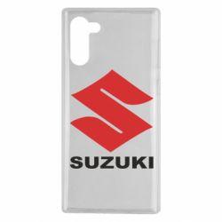 Чехол для Samsung Note 10 Suzuki - FatLine