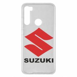 Чехол для Xiaomi Redmi Note 8 Suzuki - FatLine