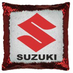 Подушка-хамелеон Suzuki