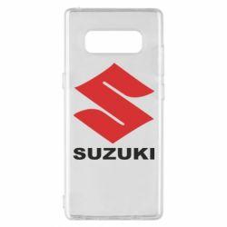 Чехол для Samsung Note 8 Suzuki - FatLine
