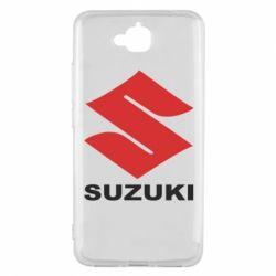 Чехол для Huawei Y6 Pro Suzuki - FatLine