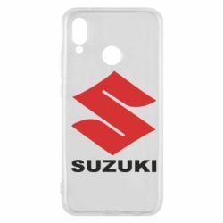 Чехол для Huawei P20 Lite Suzuki - FatLine