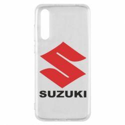 Чехол для Huawei P20 Pro Suzuki - FatLine