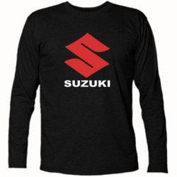 Футболка с длинным рукавом Suzuki - FatLine