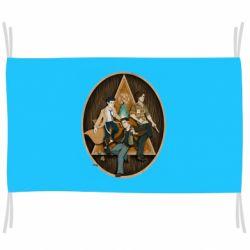 Флаг Сверхъестественное Арт