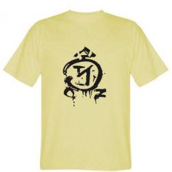 Мужская футболка Сверхъестественное логотип - FatLine