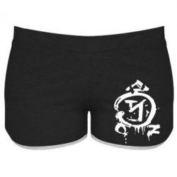 Женские шорты Сверхъестественное логотип - FatLine