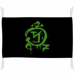 Флаг Сверхъестественное логотип
