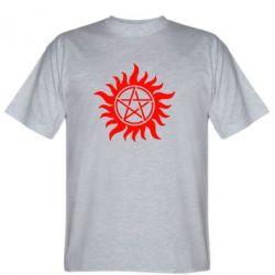 Мужская футболка Сверхъестественное Star - FatLine