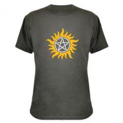 Камуфляжная футболка Сверхъестественное Star - FatLine