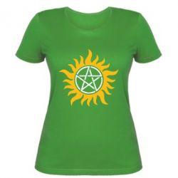 Женская футболка Сверхъестественное Star - FatLine